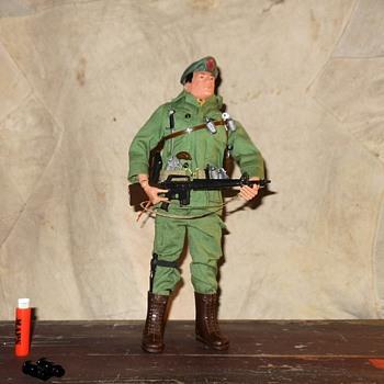 GI Joe Green Beret Number 5 Circa 1968 - Toys