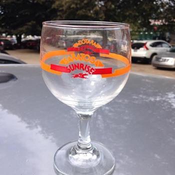 Saratoga Sunrise Glass - Advertising