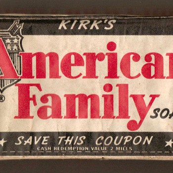 1930's/40's - American Family Soap - Advertising