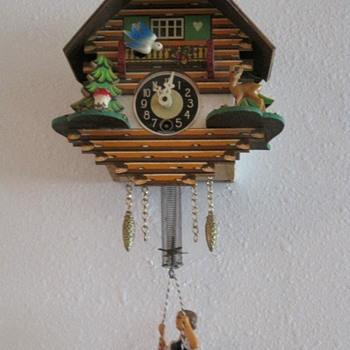 Thrifted Cuckoo Clock