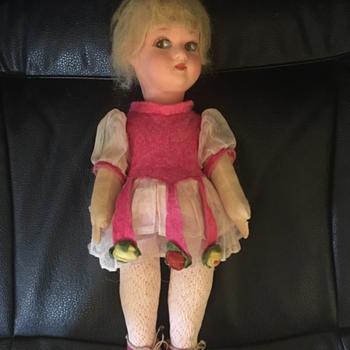 Antique Lenci doll or look alike? - Dolls