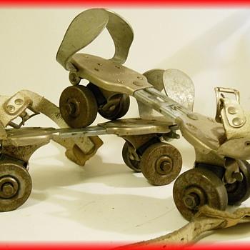 Vintage Canadian Roller Skates - Sporting Goods