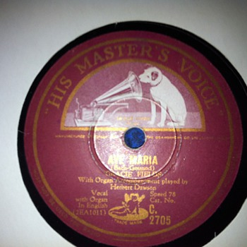 Old inhertited Records-  - Records
