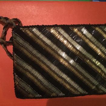 Magid beaded vintage purse