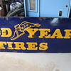 1940's PORCELAIN  GOODYEAR TIRES SIGN