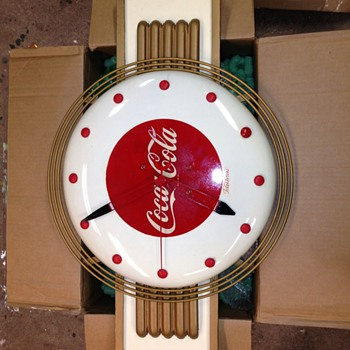 "Coke and ""wear like a pigs nose"" clocks - Advertising"