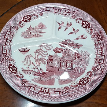 Willow Grill Plate  - China and Dinnerware