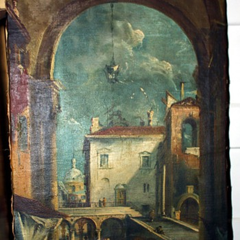 could this be a piece by Francesco Guardi??!! - Fine Art