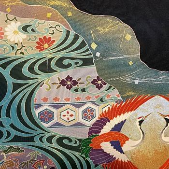 Japanese Silk Panel #3 - my favorite! - Asian