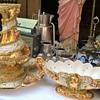 My opulent Italian Florentine Vase Set