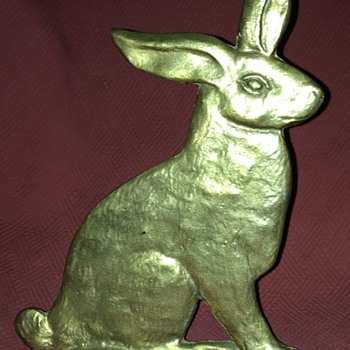 Spenser Double Sided Rabbit Doorstop - Animals