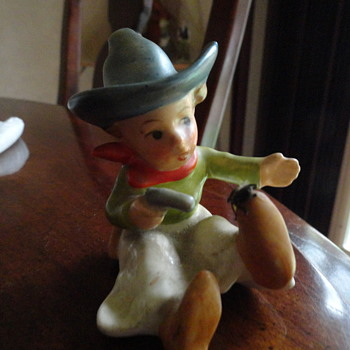 Little Cowboy Figurine - Figurines