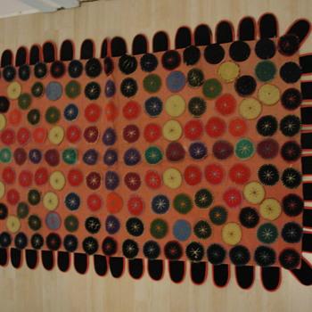 """Cats Tongue  Quebec Rug """"L'angue de Chat"""" - Rugs and Textiles"""