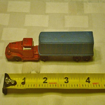 Tootsie Truck and Trailer - Model Cars