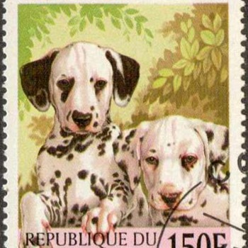 "1998 - Benin ""Dalmatians"" Postage Stamp - Stamps"