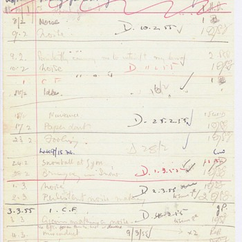 Double-Sided John Lennon School Detention Sheets