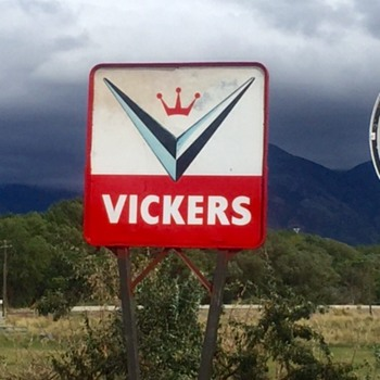 Vickers Gasoline - Signs