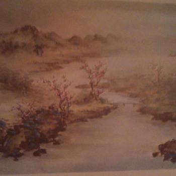 Chinese landscape prints