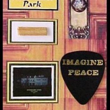 Tittenhurst Park door - Music Memorabilia