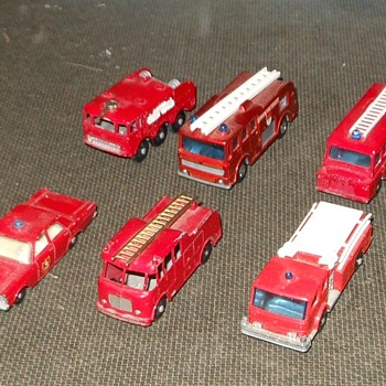 Matchbox Fire Engines From The Fire Station Post - Model Cars