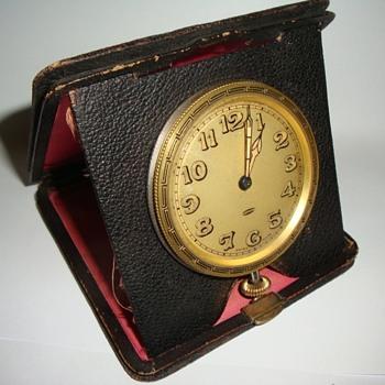 A. Letcoultre Sandoz Swiss Travel Clock - Clocks