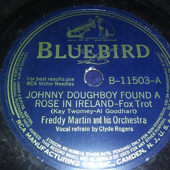 Way Back Wednesdays...Freddy Martin And Orchestra...On 78 RPM Shellac - Records