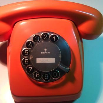 Vintage German Rotary Telephone - Telephones
