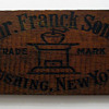 Heinrich Franck & Sons Wooden Coffee Crate Sign