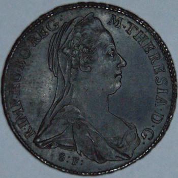 Original 1780 ( non restrike) Burgau Maria Theresa Thaler - World Coins