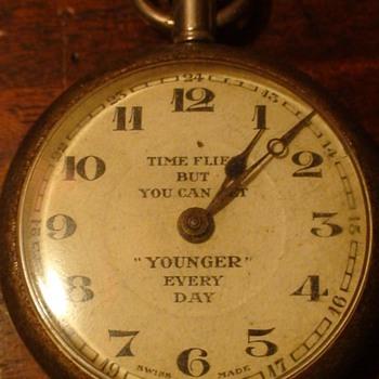 King George V Jubilee 1935 Time Flies Watch