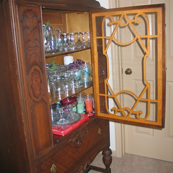 Montgomery Ward china cabinet