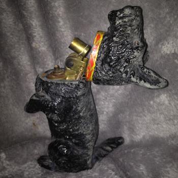 Scotty Dog Table Cigarette lighter