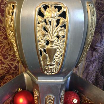Antique Oriental Floor Lamp