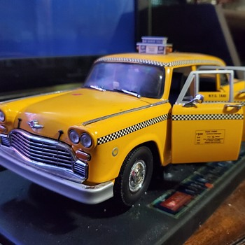New York yellow cab - Model Cars