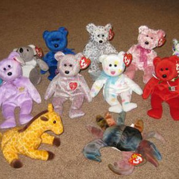My First Beanie Babies - Redeemed - Tags Removed - Dolls