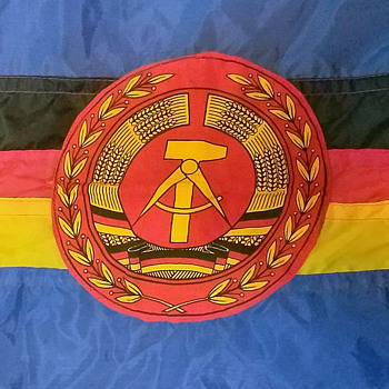 East German Navy Ship flag - Military and Wartime