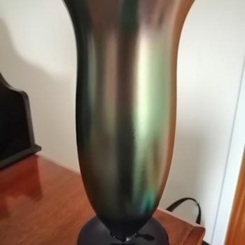 WMF Myra-Kristall 'Blau Perlmutter'  - Art Glass