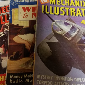 vintage mechanic magazines