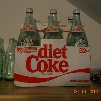 6-pack of 32 oz. Diet Coke in cardboard case