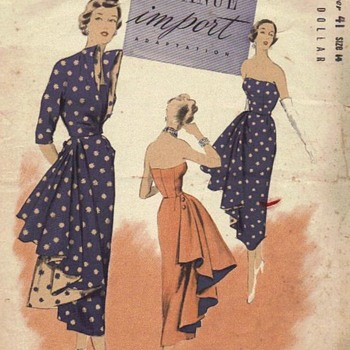 1940s Vintage Sewing Patterns - Sewing