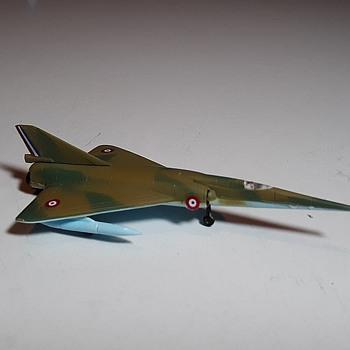 Bachmann Mini-Planes Mirage 4A Circa Late 1960s - Toys