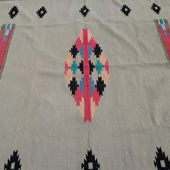 Native American Vintage Loom Blanket