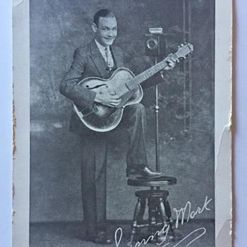 Photo of Guitarist Sunny Mork ??? Who Is HE ???? - Music Memorabilia