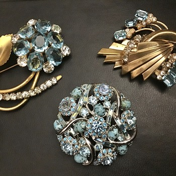 Pretty in Blue - Costume Jewelry