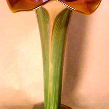Quezal Floriform Vase c. 1910