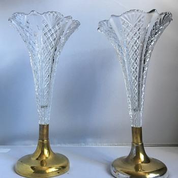 Antique glass vases  - Glassware