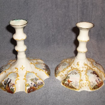 From England? Bone China roughly around 100+ years old - Lamps