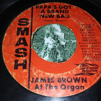 An Obscure Version..Mr. James Brown...On 45 RPM Vinyl - Records