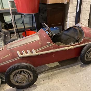 #9 pedal race car-Champion-Big Deuce - Model Cars