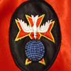 Mystery Military Nurse Patch from antique nurses' cape